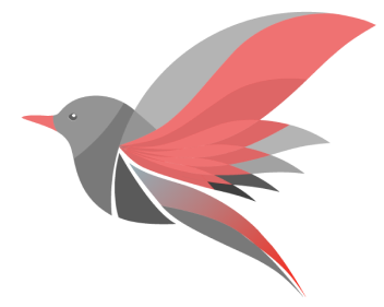 Redwing Business Intelligence Logo With A Transparent Background